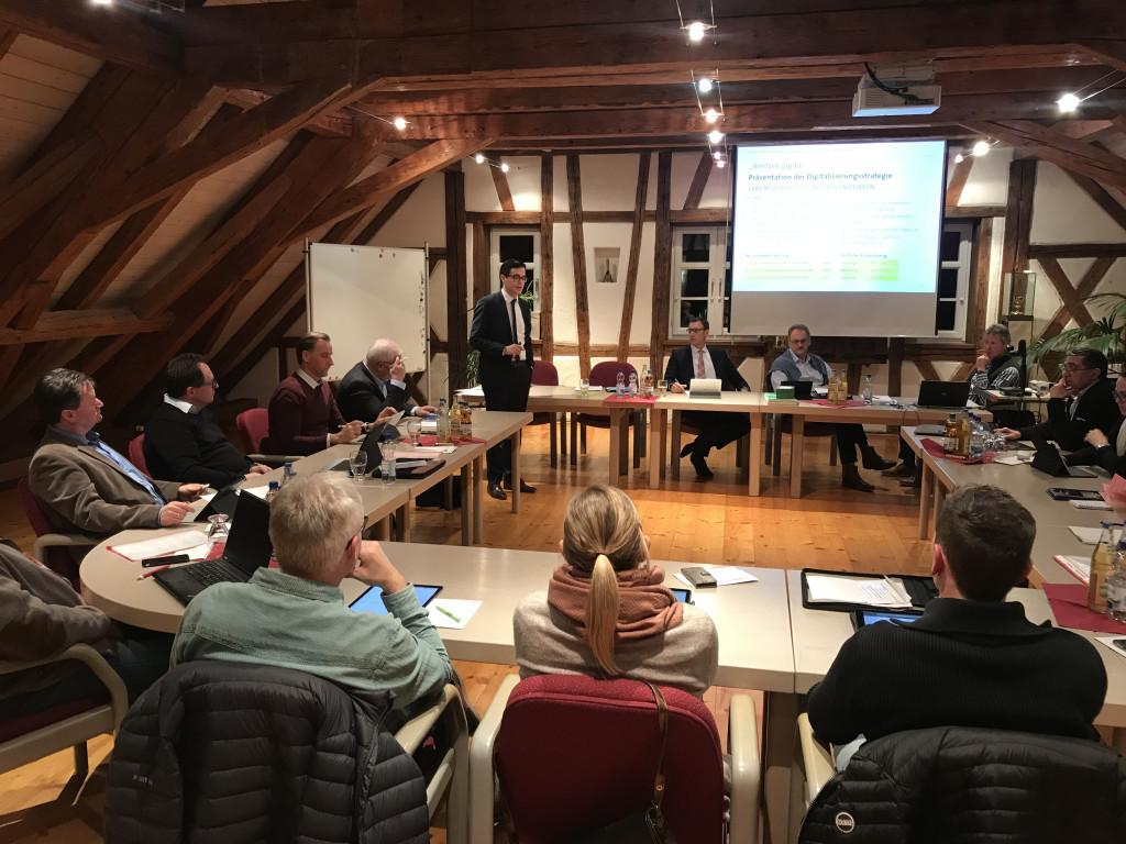Gemeinderat Digitalisierungsstrategie