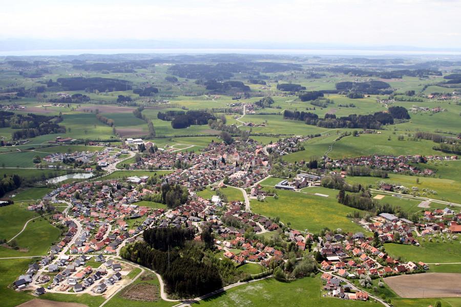 Luftbild über Amtzell 6